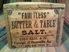 Faultless Salt Box