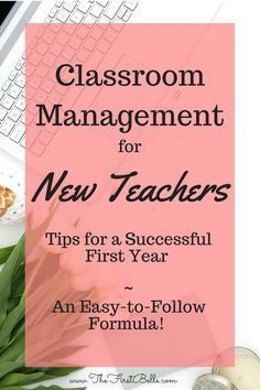 behavior management- New Teacher! Tips for Classroom management! Behavior management is the most important aspect of a strong classroom. Once you find your behavior management style, you can easily get control of your new class- even the tough ones!