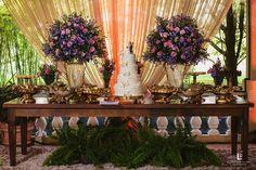 Decoração em tons de Rosa e Roxo Casamento {Júlia e Maurício} Haras Fortaleza | Blog Site da Noiva - Casamento Júlia e Maurício