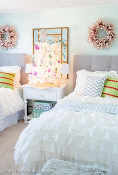 Christmas Teen Girl Bedroom