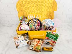 Umai Crate is a subscription box featuring Japanese style noodles + bonus item. See our May 2017 review and grab coupon code!   Umai Crate May 2017 Subscription Box Review + Coupon →  https://hellosubscription.com/2017/06/umai-crate-may-2017-subscription-box-review-coupon/ #UmaiCrate  #subscriptionbox