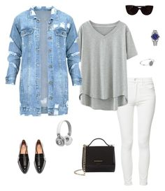 """""""Untitled #56"""" by cristinestyle on Polyvore featuring Mother, H&M, Givenchy, Tiffany & Co., Rolex, Witchery and Master & Dynamic"""