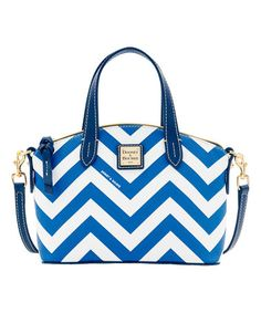 Look at this #zulilyfind! Navy Chevron Ruby Mini Satchel #zulilyfinds