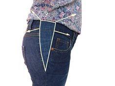 Jeans Hose mit einem Keil erweitern - so funktioniert. How to Make a Dress Bigger - YouTube