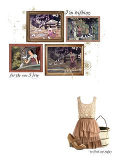 """""""I'm Wishing"""" by siriuslyoddsome ❤ liked on Polyvore featuring Disney, Temperley London, i'm wishing, snow white and disney"""