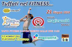 Fit Kombat Day a Magic World!  Il programma: http://www.magicworld.it/?p=40977