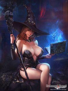 Online Social Network for Fantasy, Pinup, and Erotic Art Lovers! Fantasy Girl, Fantasy Anime, Chica Fantasy, Fantasy Women, Fantasy Witch, Manga Anime, Art Manga, Pin Up, Girl Cartoon