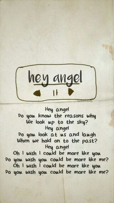 #HeyAngel #Lyrics #Song #MadeInTheA.M