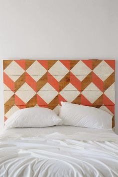 DIY paint your headboard