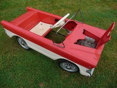 1960s Tri-ang Miami Pedal Car. To see more pictures of this pedal car be sure to visit Chasing Pedal Cars Facebook Page
