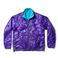 Reversible Camper Jacket, Purple/Teal