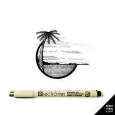 (Day 1222) ▪️ ▪️ ▪️ #art #artist #drawing #dailydrawings #illustration #ink #inkdrawing #landscape #geometry #iblackwork #pen #penandink #sketchbook #blackwork #alvindrafting #twitchcreative #twitch #sakuramicron #micron