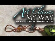 Beginner jewelry smithing: Chain 5