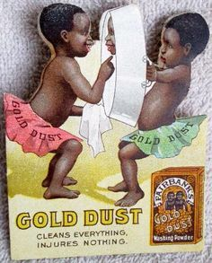Gold Dust Washing Powder in the 1890's
