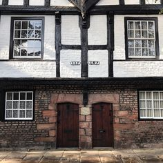 The Nine Houses (which are actually six) are the only surviving pre-16th century almshouses in Chester. Did you know that the SOP and SMP signs stand for parish boundaries: St Oswalds Parish and St Martins Parish?
