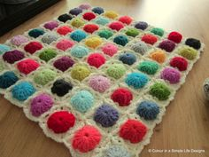 Cobblestone Square Crochet Pattern by Colourinasimplelife on Etsy