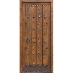 Carpinteros Diseo En Madera Puerta Rstica Exterior Ref 2002 dentro Puertas De Madera Rusticas