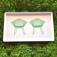 Bertoia Chair Tray Large now featured on Fab.