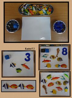 "Number recognition, counting and pattern play from Rachel ("",)"