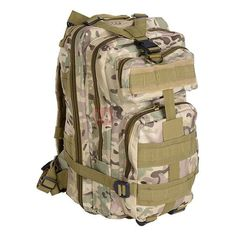 Brandit US Cooper Large Assault Pack II Camouflage BW Army Sac a dos randonnée