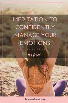 If you fear how you feel, you're definitely not alone. There is a way to move through sadness, depression and anxiety, but that answer is not to fight or struggle or resist. Click through to read about managing your emotions and download a free meditation to learn how.