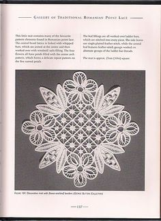 Romanian Point Lace by Angela Thompson & Kathleen Waller