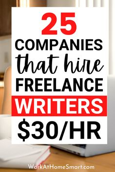 Looking for the best content writing jobs? Here's a list of companies that have online writing jobs from home for beginners and pros. Typing Jobs From Home, Online Typing Jobs, Online Writing Jobs, Freelance Writing Jobs, Online Jobs, Content