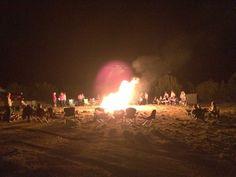 Summer bonfire. -Savage photography