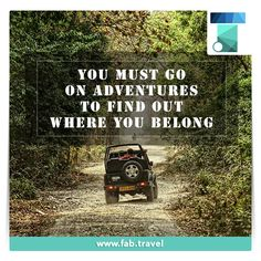 #TravelFabulously  Take your life from a 3.1 to a 10 on the #Adventure scale, have #Fun and let your mind go on an adventure.