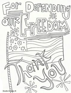 Memorial Day coloring pages - Free and printable... | Patriotic Fun ...