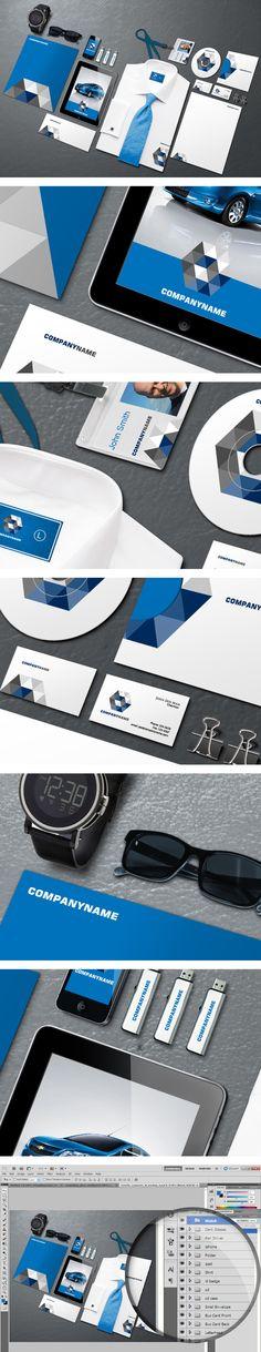 Free Corporate Identity Mockup