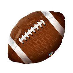 Football Mylar Balloon - 36 inch. Add to your Tackle Reading classroom!! Kathrynstarke.wordpress.com