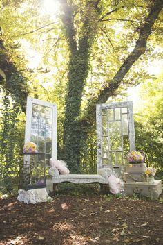Featured photo: L'Estelle Photography; Rustic Garden Wedding Inspiration Shoot - MODwedding photo: L'Estelle Photography