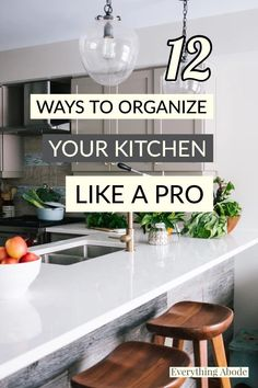 Kitchen Organization, Organization Hacks, Organizing, House Cleaning Tips, Cleaning Hacks, Small Vacuum, Renovation Budget, Home Garden Design, Neat And Tidy