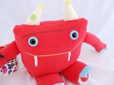 Plush Monster DALE handmade doll toy one of by PinkSprinklesPlush, $10.00