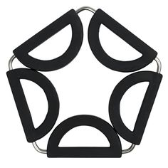 The SBS Multi-size heat protection expandable Trivet is a single solution for serving small and large pans, pots and dishes. Pots, Cool Tools, Storage Spaces, Creative Design, Cleaning Wipes, Pot Holders, Kitchen, Counter Tops, Black
