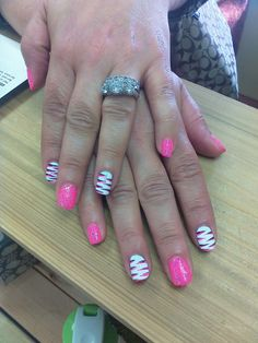 these nails were designed at @SimpleSolitude in Vancouver, WA