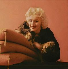 Sweet kisses - MM - Milton Greene - Pekinese (1953)