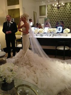 Vera wang -- I would not want this for me, but it is unique love the look of it