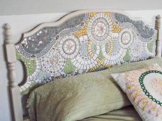 diy mosaic headboard - Google Search