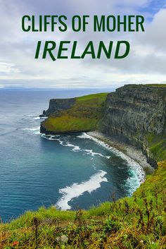 In Ireland, I made my way to the famous Cliffs of Moher for an inspiring, melancholic visit. (Click to learn more.)
