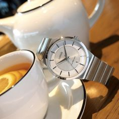"""""""Tea time is a chance to slow down, pull back and appreciate our surroundings."""" - Letitia Baldrige Repost: @loruswatches"""
