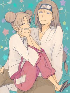Neji Hyuga and Tenten, if only this pair got a happy ending! but no. Neij died. T^T