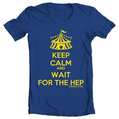 Keep Calm and Wait for the Hep Circus Trapeze by CirqueSoul