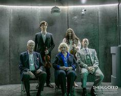 The Holmes: Mr and Mrs, Mycroft, Sherlock and Eurus Sherlock Holmes Bbc, Sherlock Fandom, Jim Moriarty, Sherlock Series, Sherlock John, Wanda Ventham, Fangirl, Vatican Cameos, Sherlolly