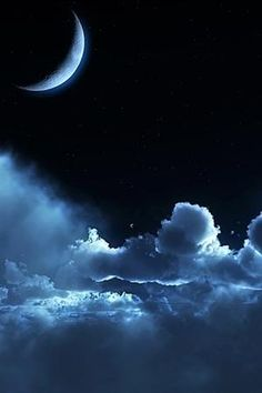 Blue. Moon.