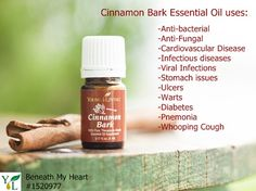 Cinnamon Bark Essential Oil! A deal in October 2014 - msg me for more info! Member: 1348337