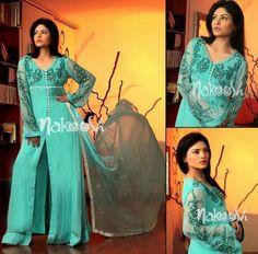 Fashion Latest Dresses for Eid | Nakoosh Eid Dresses 2014 for Girls