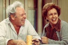 "All in the Family..  The story of Archie Bunker and his working-class family in Queens arrived on American TVs as loudly and rudely as the ""terlet"" flush that broke TV ground in the first episode."