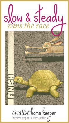 Do you feel like you've been left behind in the goal setting race? What if I told you it's not a marathon and that slow and steady actually DOES win the race? Don't be like the hare, embrace the tortoise mentality when it comes to creating and accomplishing your goals this year.